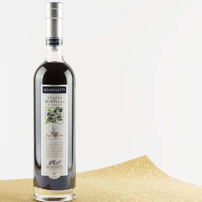 Grappa Mirtilli di Bosco