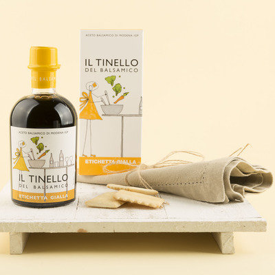 Il Tinello Yellow Label Balsamic Vinegar from Modena IGP (Protected Geographical Indication)