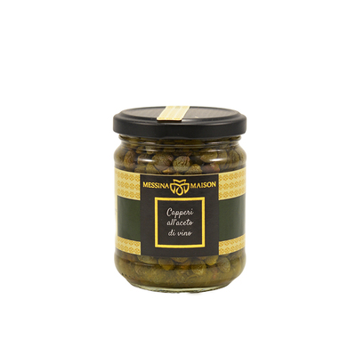 Capers with wine vinegar