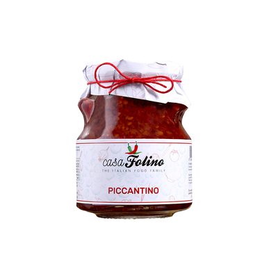 Piccantino, hot and spicy sauce, 314 ml