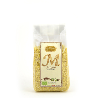 Organic Hulled Millet from Maremma