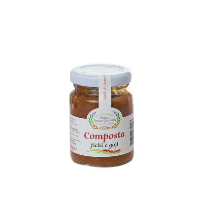 Organic Goji and Fig Compote