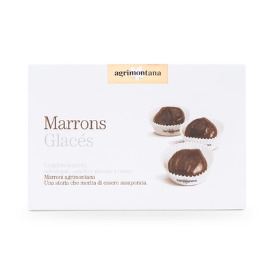 Marrons glacés in pirottino